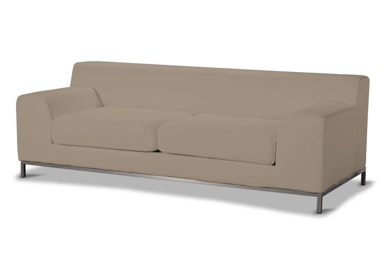 Pokrowiec na sofę Kramfors 3-osobowa Sofa Kramfors 3-osobowa w kolekcji Cotton Panama, tkanina: 702-28