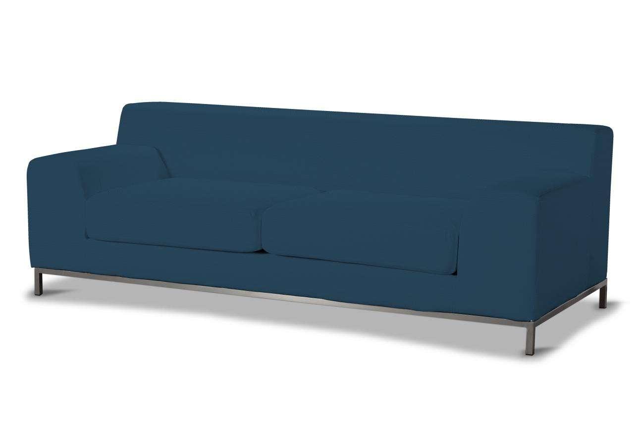 Kramfors 3-Sitzer Sofabezug Sofahusse, Kramfors 3-Sitzer von der Kollektion Cotton Panama, Stoff: 702-30