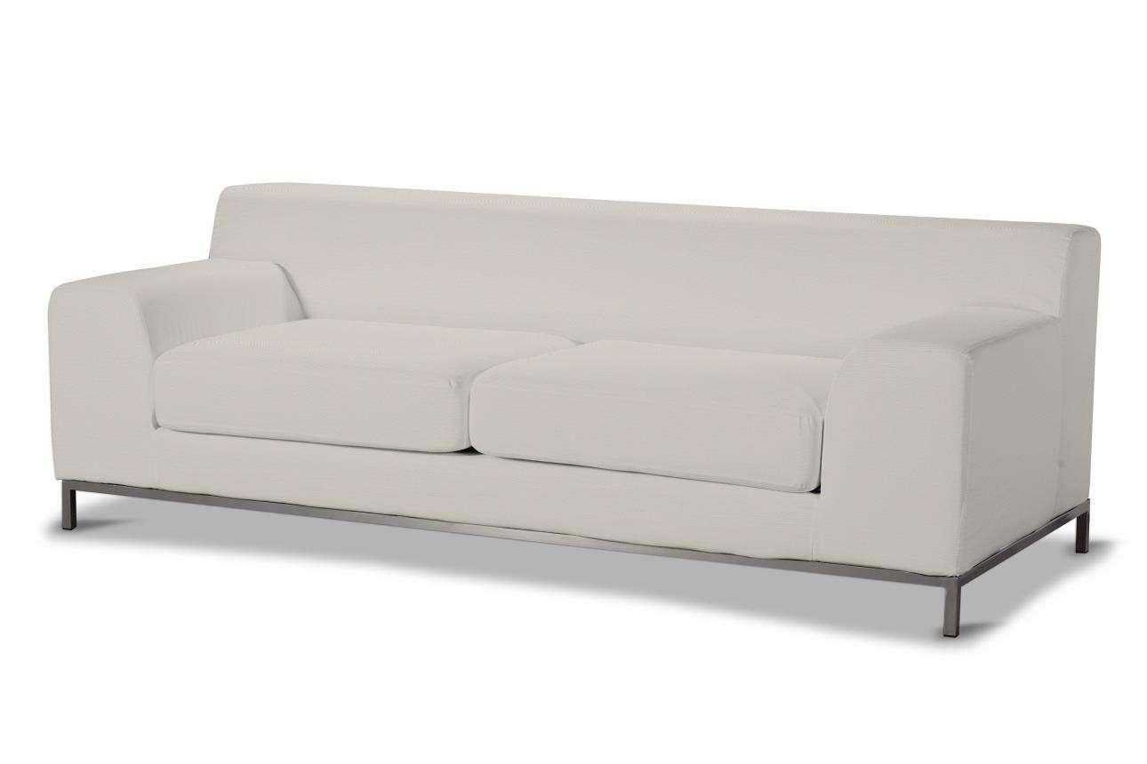 Pokrowiec na sofę Kramfors 3-osobowa Sofa Kramfors 3-osobowa w kolekcji Cotton Panama, tkanina: 702-31