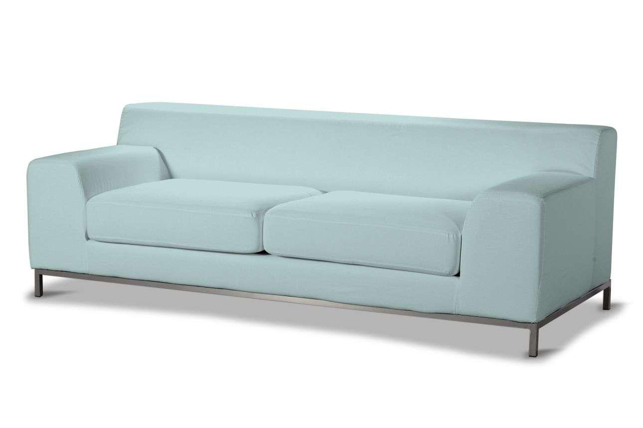 Pokrowiec na sofę Kramfors 3-osobowa Sofa Kramfors 3-osobowa w kolekcji Cotton Panama, tkanina: 702-10