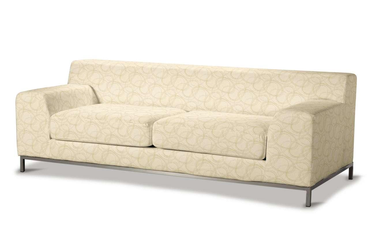Pokrowiec na sofę Kramfors 3-osobowa w kolekcji Living, tkanina: 161-81