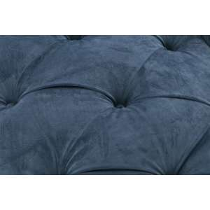 Sofa Chesterfield Glamour Velvet Midnight 2os.  187x94x75cm