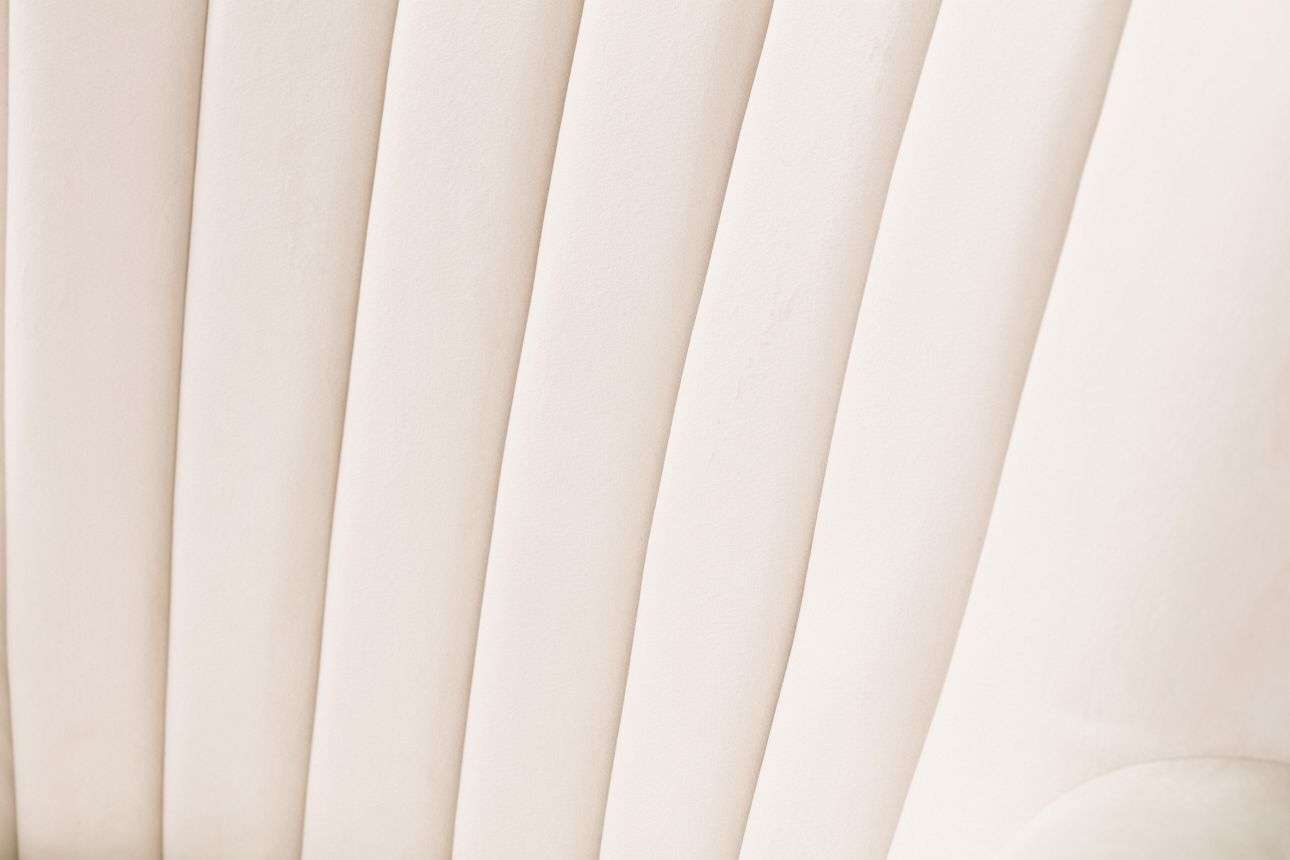 Fotel Scarlett Velvet Cream 78x83x101cm  80x83x101cm