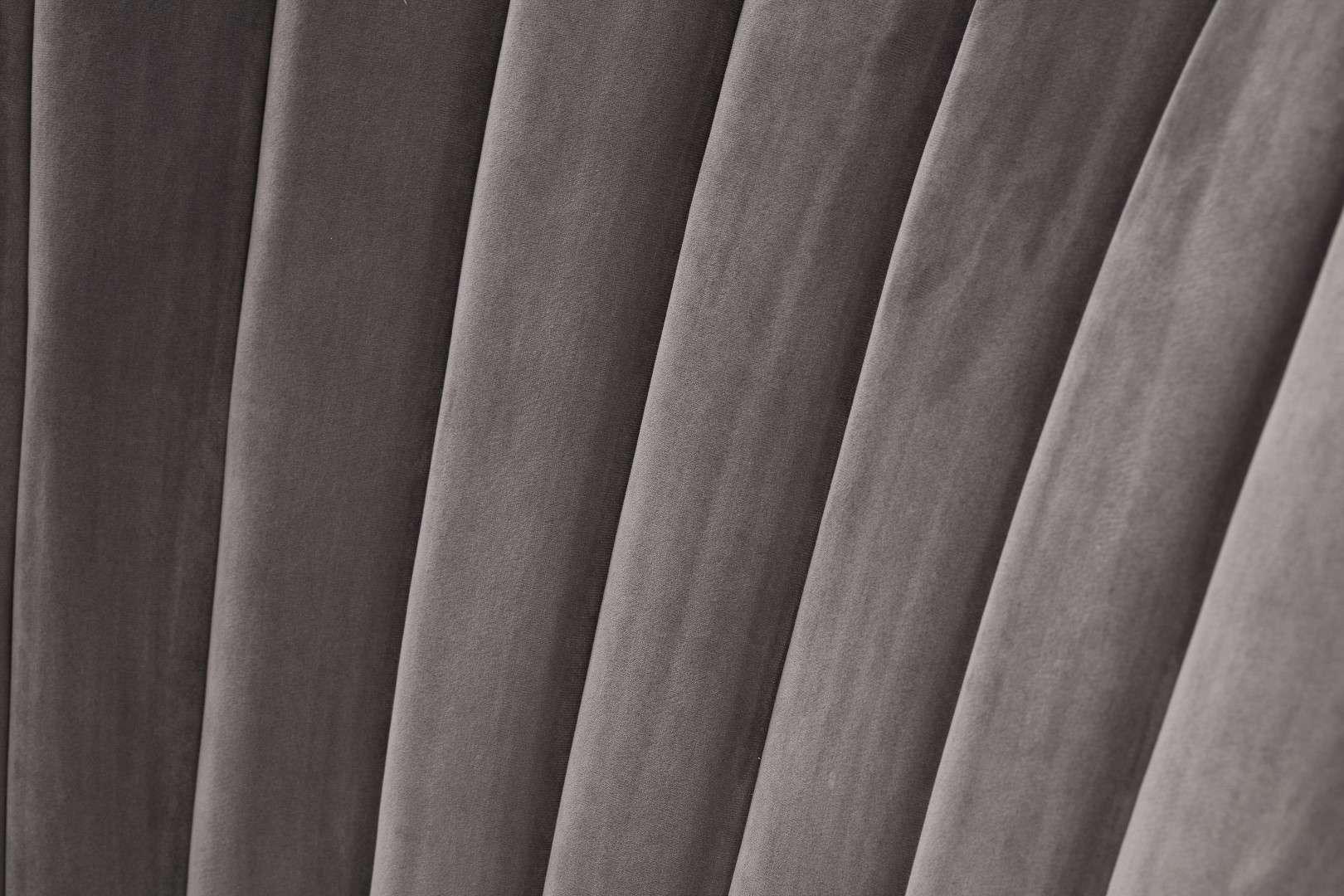 Dekoria Fotel Scarlett Velvet Dark Grey 78x83x101cm