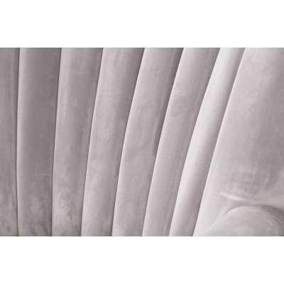 Sessel Scarlett Velvet Light Grey 78x83x101cm