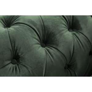 Fotel Chesterfield Classic Velvet Deep Forest 118x96x36cm  118x96x77cm