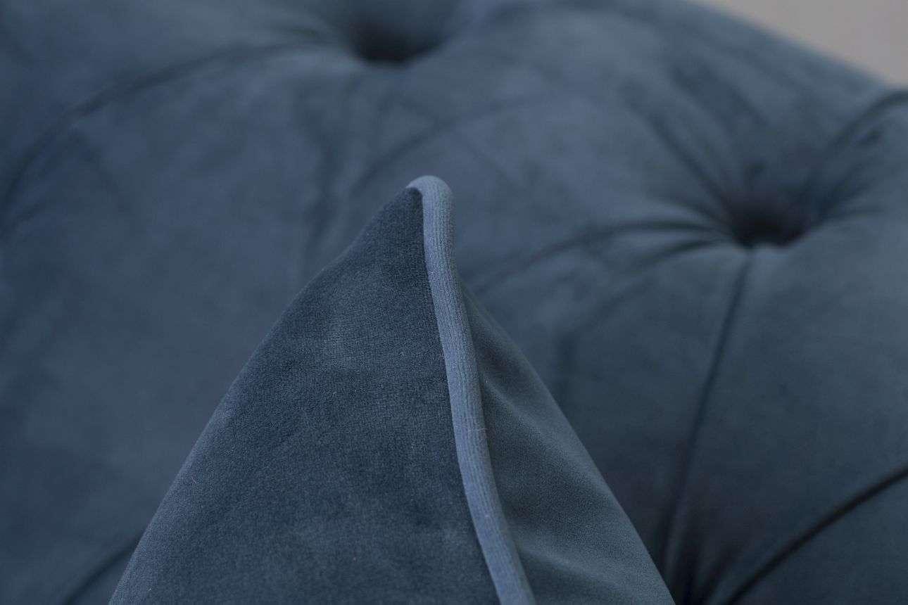 Fotel Chesterfield Classic Velvet Midnight 118x96x77cm