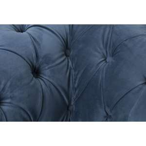 Fotel Chesterfield Classic Velvet Midnight 118x96x77cm 118x96x77cm