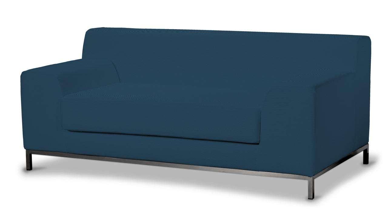 Kramfors 2-Sitzer Sofabezug Sofahusse, Kramfors 2-Sitzer von der Kollektion Cotton Panama, Stoff: 702-30