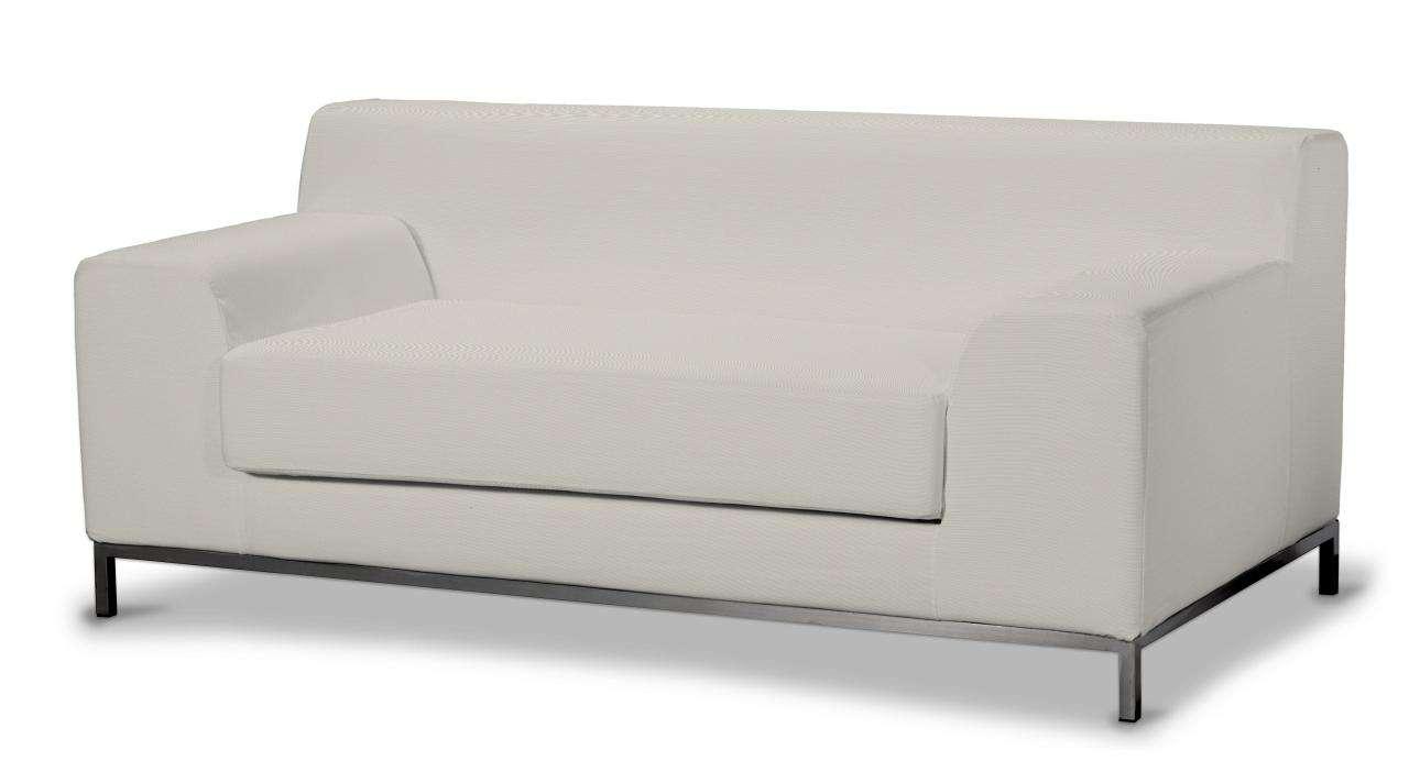 Pokrowiec na sofę Kramfors 2-osobową w kolekcji Cotton Panama, tkanina: 702-31