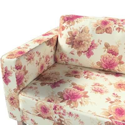 Pokrowiec na sofę Karlstad 3-osobową nierozkładaną, krótki w kolekcji Londres, tkanina: 141-06