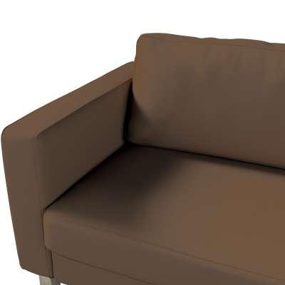 Pokrowiec na sofę Karlstad 3-osobową nierozkładaną, krótki w kolekcji Cotton Panama, tkanina: 702-02