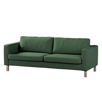 Karlstad 3-Sitzer Sofabezug nicht ausklappbar kurz von der Kollektion Cotton Panama, Stoff: 702-06