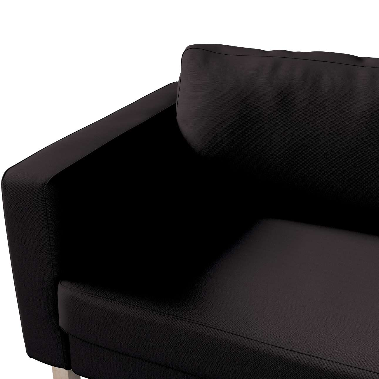 Karlstad päällinen kolmen istuttava mallistosta Cotton Panama, Kangas: 702-08
