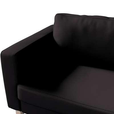 Pokrowiec na sofę Karlstad 3-osobową nierozkładaną, krótki w kolekcji Cotton Panama, tkanina: 702-08