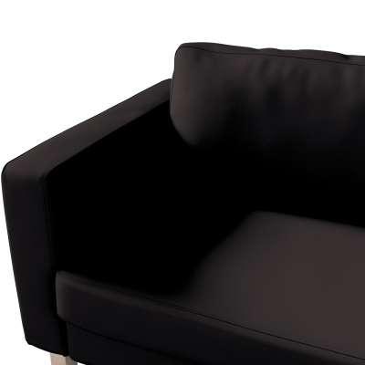 Pokrowiec na sofę Karlstad 3-osobową nierozkładaną, krótki w kolekcji Cotton Panama, tkanina: 702-09
