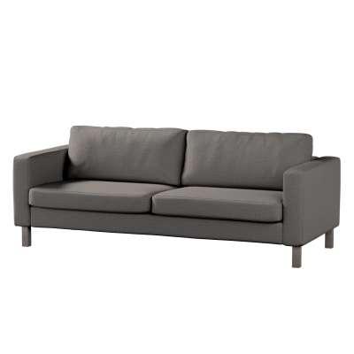 Pokrowiec na sofę Karlstad 3-osobową nierozkładaną, krótki w kolekcji Edinburgh, tkanina: 115-77