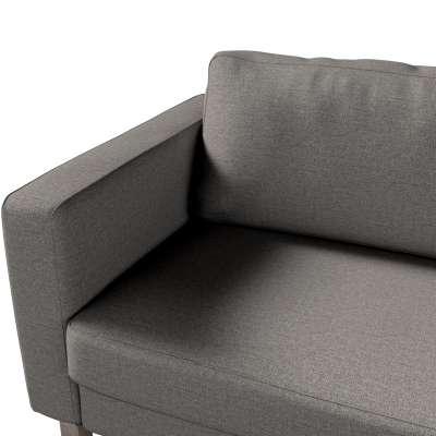 Potah na pohovku IKEA  Karlstad 3-místná, nerozkládací, krátký v kolekci Edinburgh, látka: 115-77