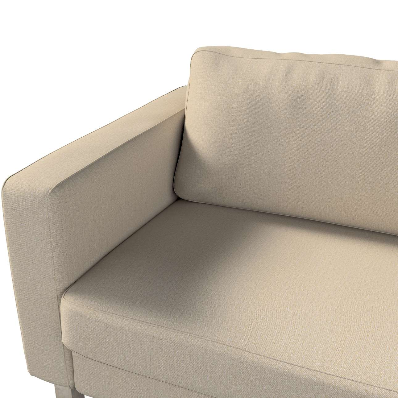 Pokrowiec na sofę Karlstad 3-osobową nierozkładaną, krótki w kolekcji Edinburgh, tkanina: 115-78