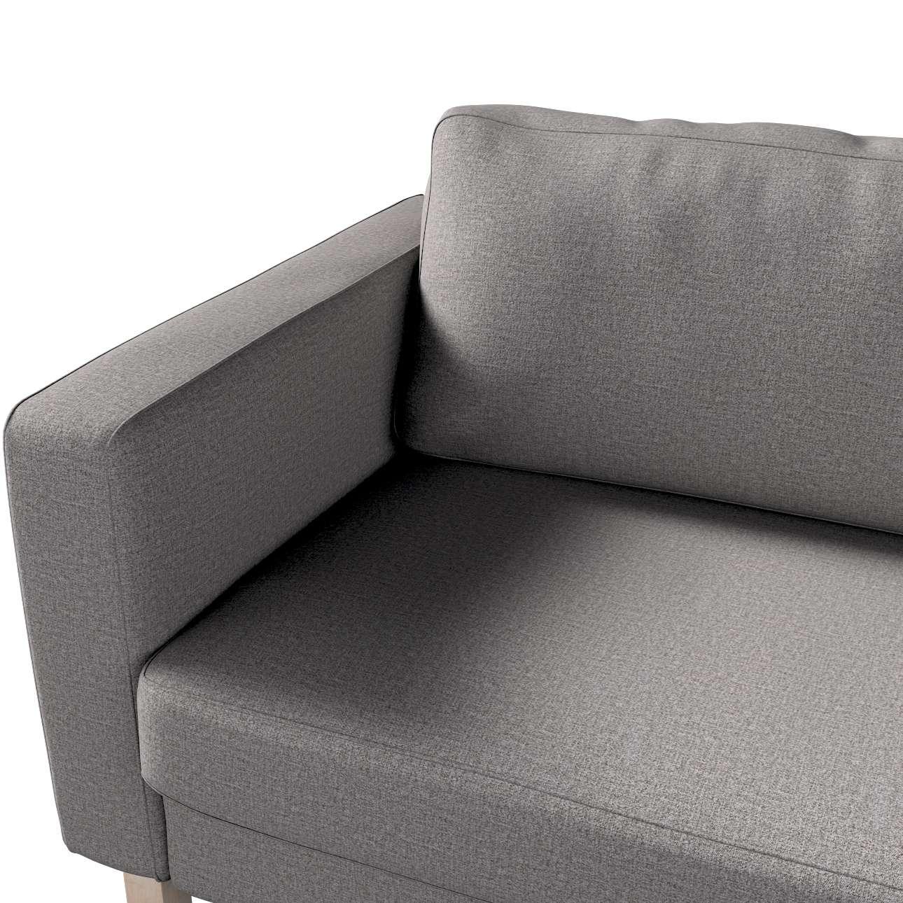 Potah na pohovku IKEA  Karlstad 3-místná, nerozkládací, krátký v kolekci Edinburgh, látka: 115-81