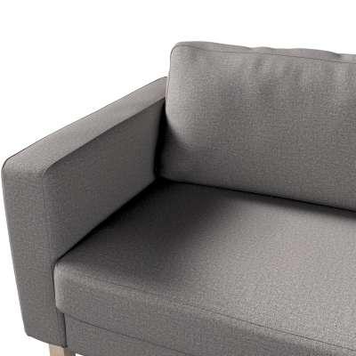 Pokrowiec na sofę Karlstad 3-osobową nierozkładaną, krótki w kolekcji Edinburgh, tkanina: 115-81