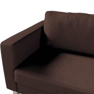 Pokrowiec na sofę Karlstad 3-osobową nierozkładaną, krótki w kolekcji Chenille, tkanina: 702-18