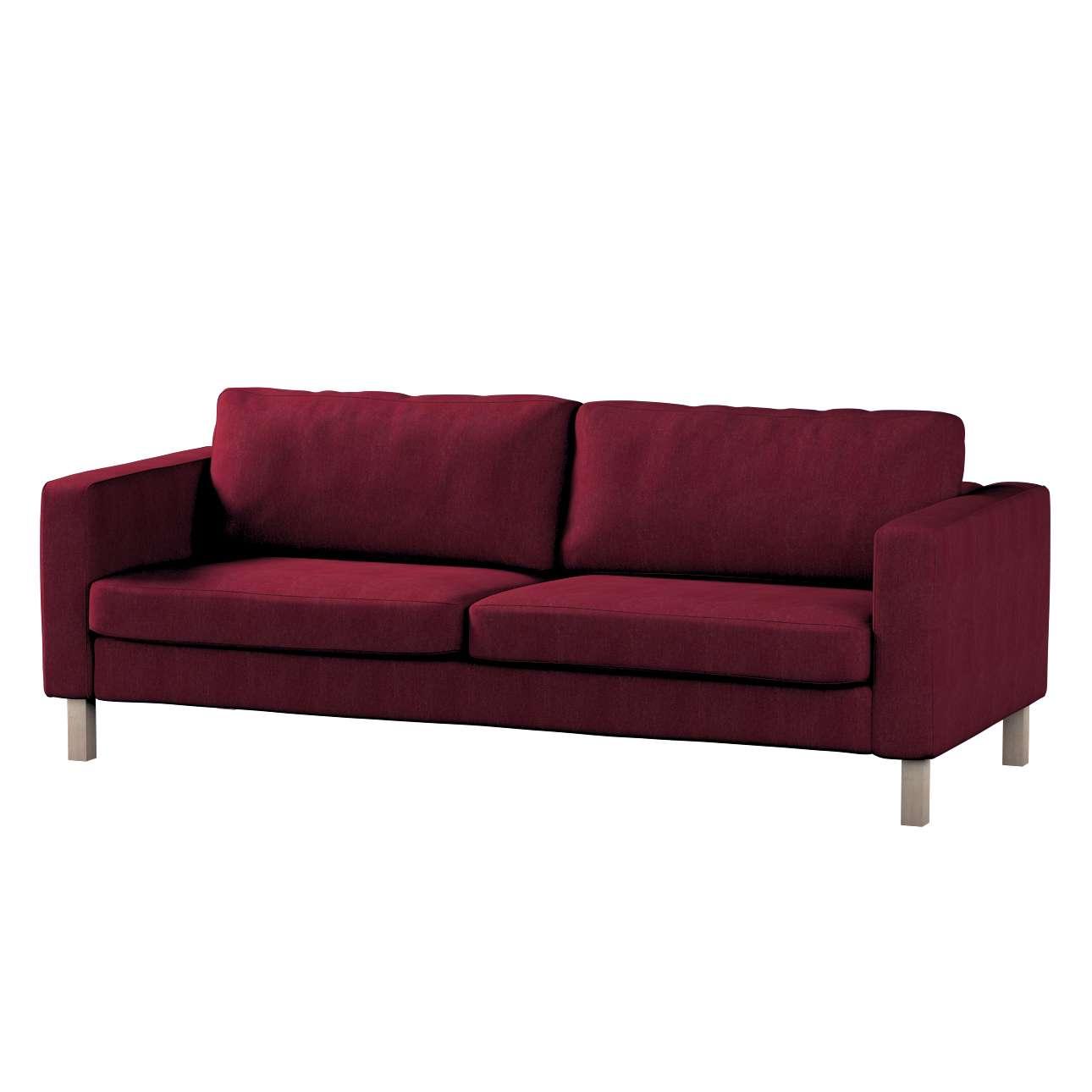 Karlstad 3-Sitzer Sofabezug nicht ausklappbar kurz Karlstad von der Kollektion Chenille , Stoff: 702-19