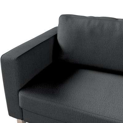 Pokrowiec na sofę Karlstad 3-osobową nierozkładaną, krótki w kolekcji Chenille, tkanina: 702-20