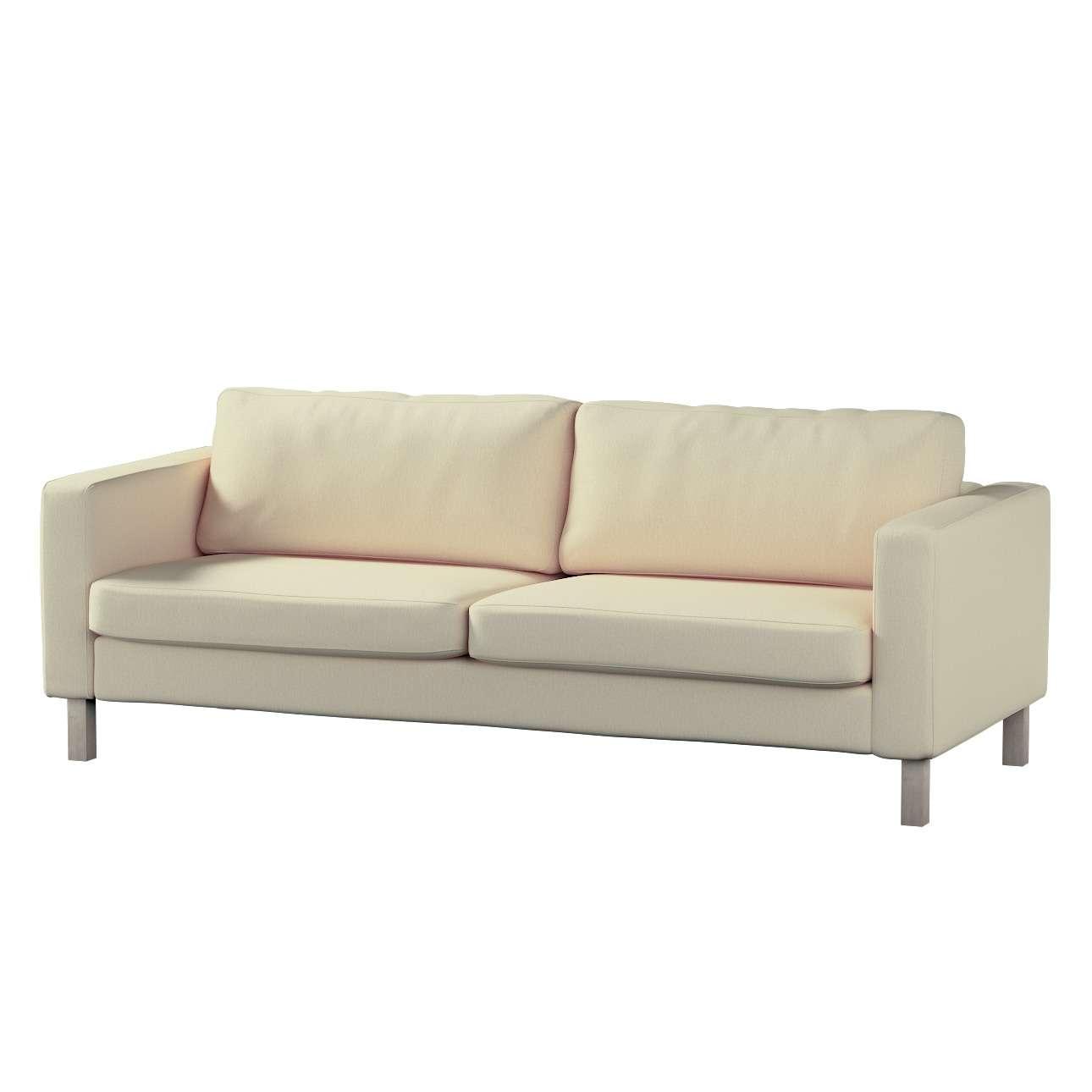 Poťah na sedačku Karlstad (nerozkladá sa, pre 3 osoby, krátka) Poťah na sedačku Karlstad - pre 3 osoby, nerozkladá sa, krátka V kolekcii Chenille, tkanina: 702-22