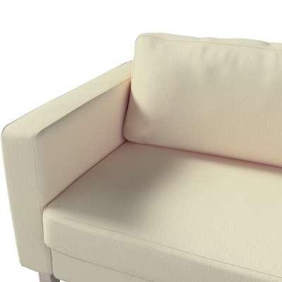 Pokrowiec na sofę Karlstad 3-osobową nierozkładaną, krótki w kolekcji Chenille, tkanina: 702-22