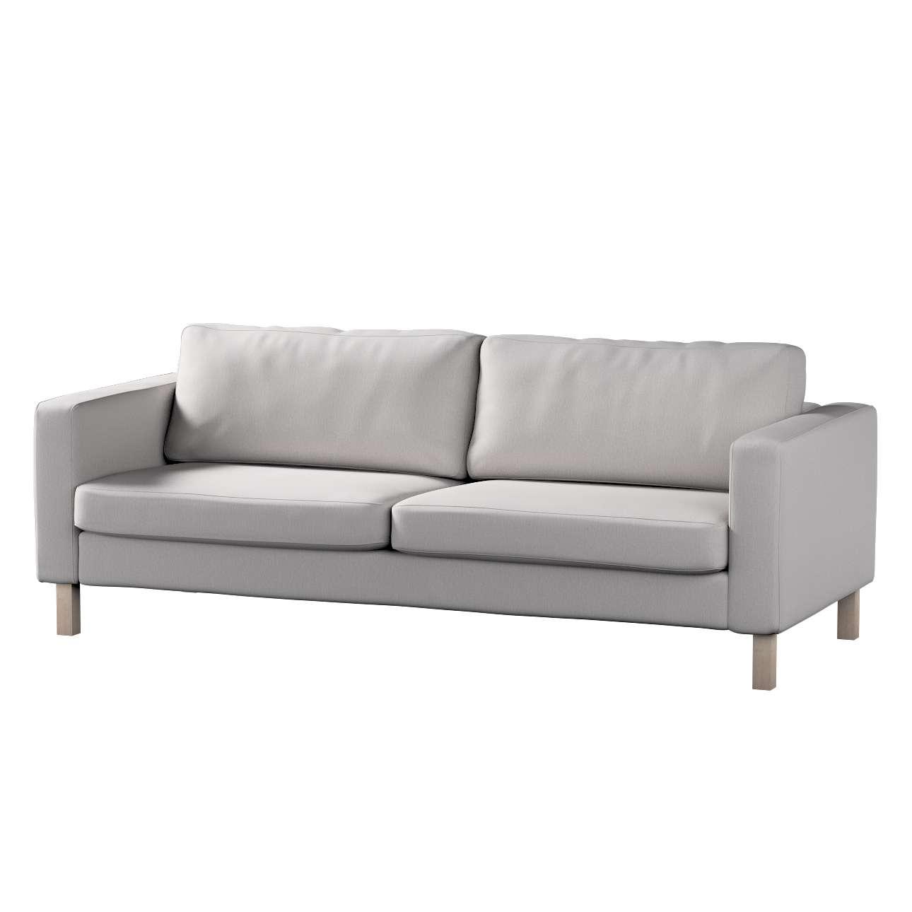 Pokrowiec na sofę Karlstad 3-osobową nierozkładaną, krótki Sofa Karlstad 3-osobowa w kolekcji Chenille, tkanina: 702-23