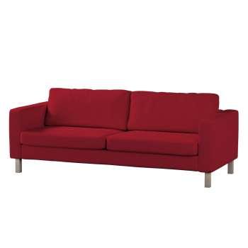 Pokrowiec na sofę Karlstad 3-osobową nierozkładaną, krótki Sofa Karlstad 3-osobowa w kolekcji Chenille, tkanina: 702-24