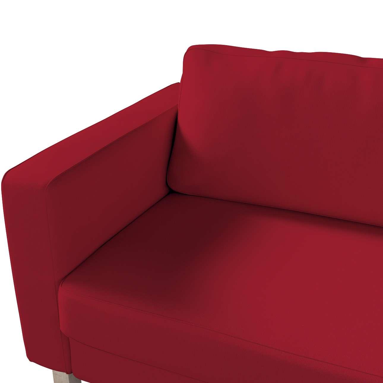 Hoes voor Karlstad 3-zitsbank van IKEA van de collectie Chenille, Stof: 702-24