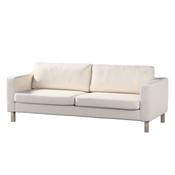 Pokrowiec na sofę Karlstad 3-osobową nierozkładaną, krótki Sofa Karlstad 3-osobowa w kolekcji Etna , tkanina: 705-01