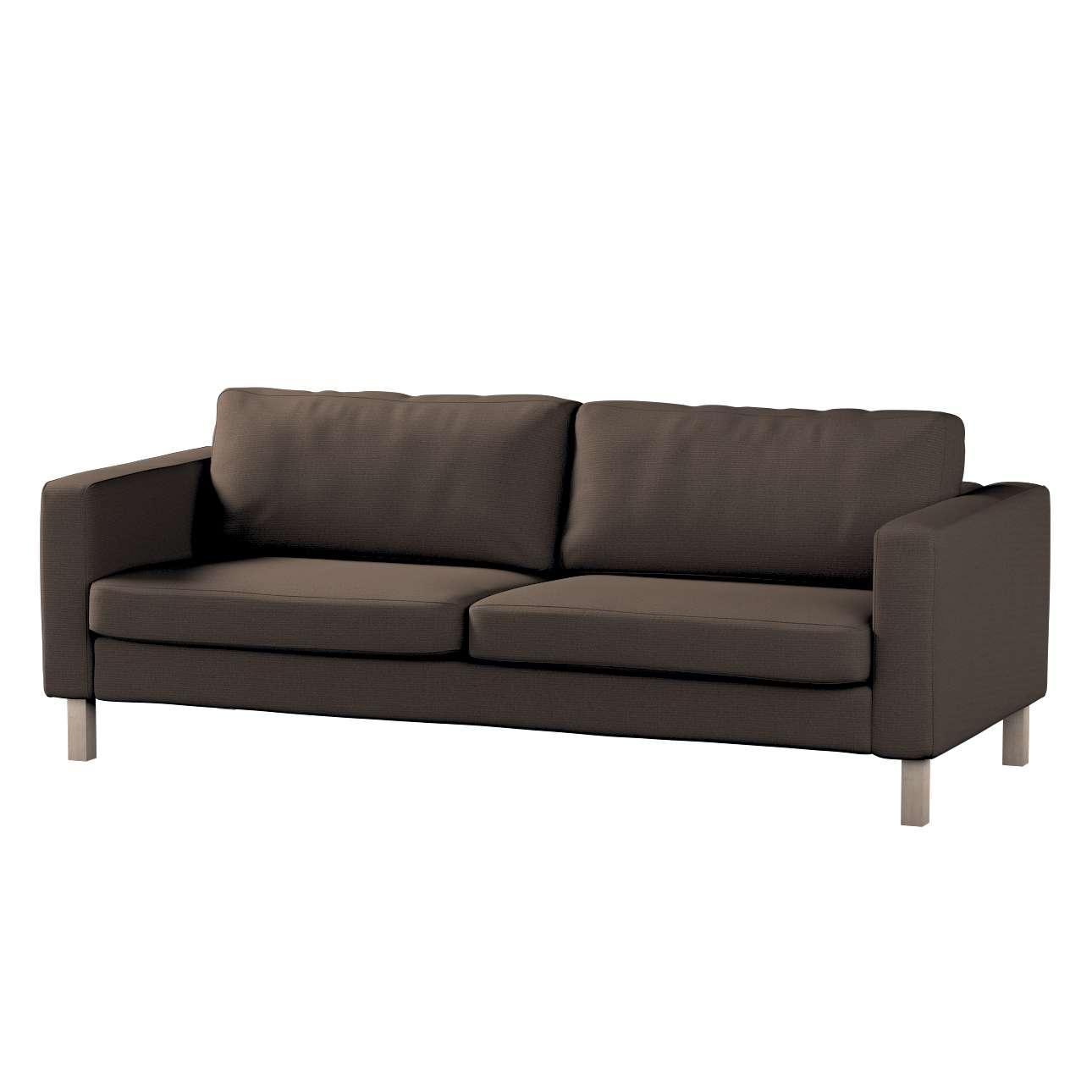 Pokrowiec na sofę Karlstad 3-osobową nierozkładaną, krótki Sofa Karlstad 3-osobowa w kolekcji Etna , tkanina: 705-08