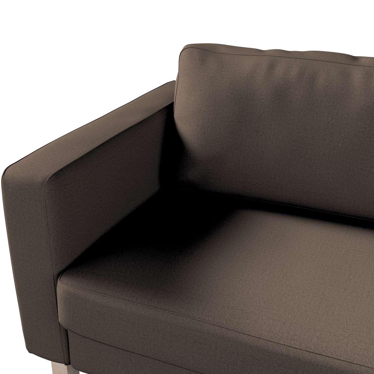 Pokrowiec na sofę Karlstad 3-osobową nierozkładaną, krótki w kolekcji Etna, tkanina: 705-08