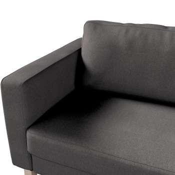 Pokrowiec na sofę Karlstad 3-osobową nierozkładaną, krótki w kolekcji Etna , tkanina: 705-35