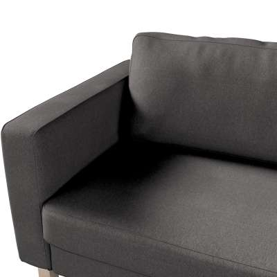 Pokrowiec na sofę Karlstad 3-osobową nierozkładaną, krótki w kolekcji Etna, tkanina: 705-35