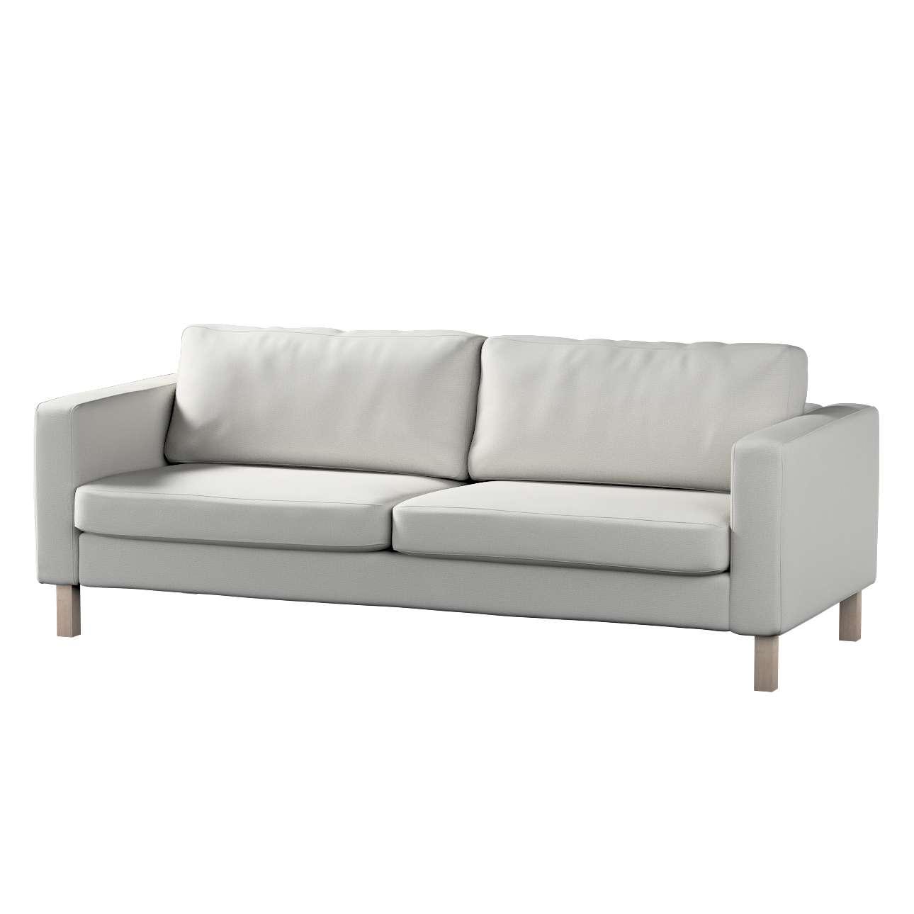 Pokrowiec na sofę Karlstad 3-osobową nierozkładaną, krótki Sofa Karlstad 3-osobowa w kolekcji Etna , tkanina: 705-90