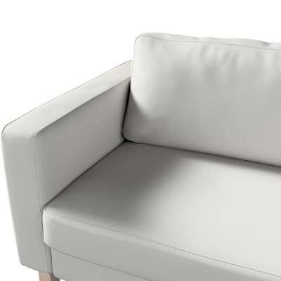 Pokrowiec na sofę Karlstad 3-osobową nierozkładaną, krótki w kolekcji Etna, tkanina: 705-90