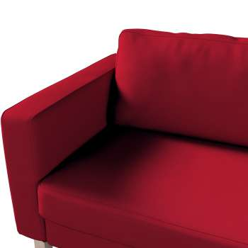 Pokrowiec na sofę Karlstad 3-osobową nierozkładaną, krótki w kolekcji Etna , tkanina: 705-60