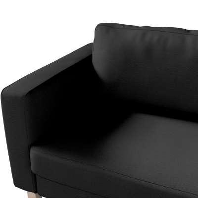 Pokrowiec na sofę Karlstad 3-osobową nierozkładaną, krótki w kolekcji Etna, tkanina: 705-00