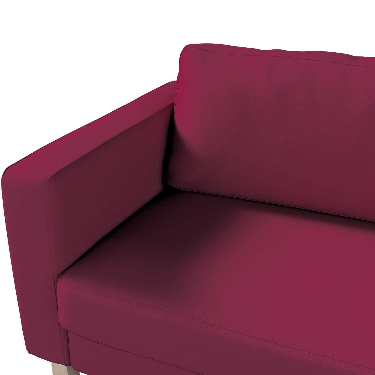 Potah na pohovku IKEA  Karlstad 3-místná, nerozkládací, krátký v kolekci Cotton Panama, látka: 702-32