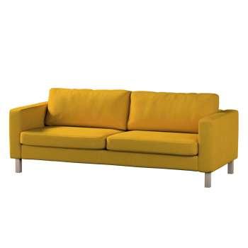Pokrowiec na sofę Karlstad 3-osobową nierozkładaną, krótki w kolekcji Etna , tkanina: 705-04