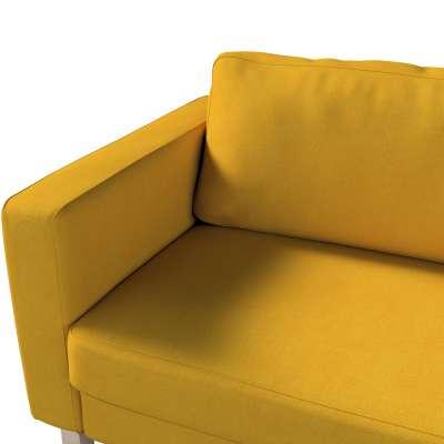 Pokrowiec na sofę Karlstad 3-osobową nierozkładaną, krótki w kolekcji Etna, tkanina: 705-04