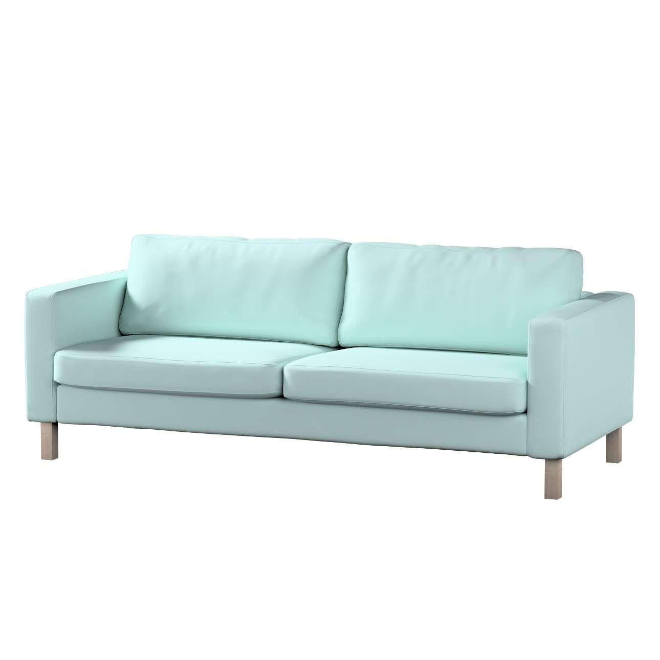 Potah na pohovku IKEA  Karlstad 3-místná, nerozkládací, krátký v kolekci Cotton Panama, látka: 702-10