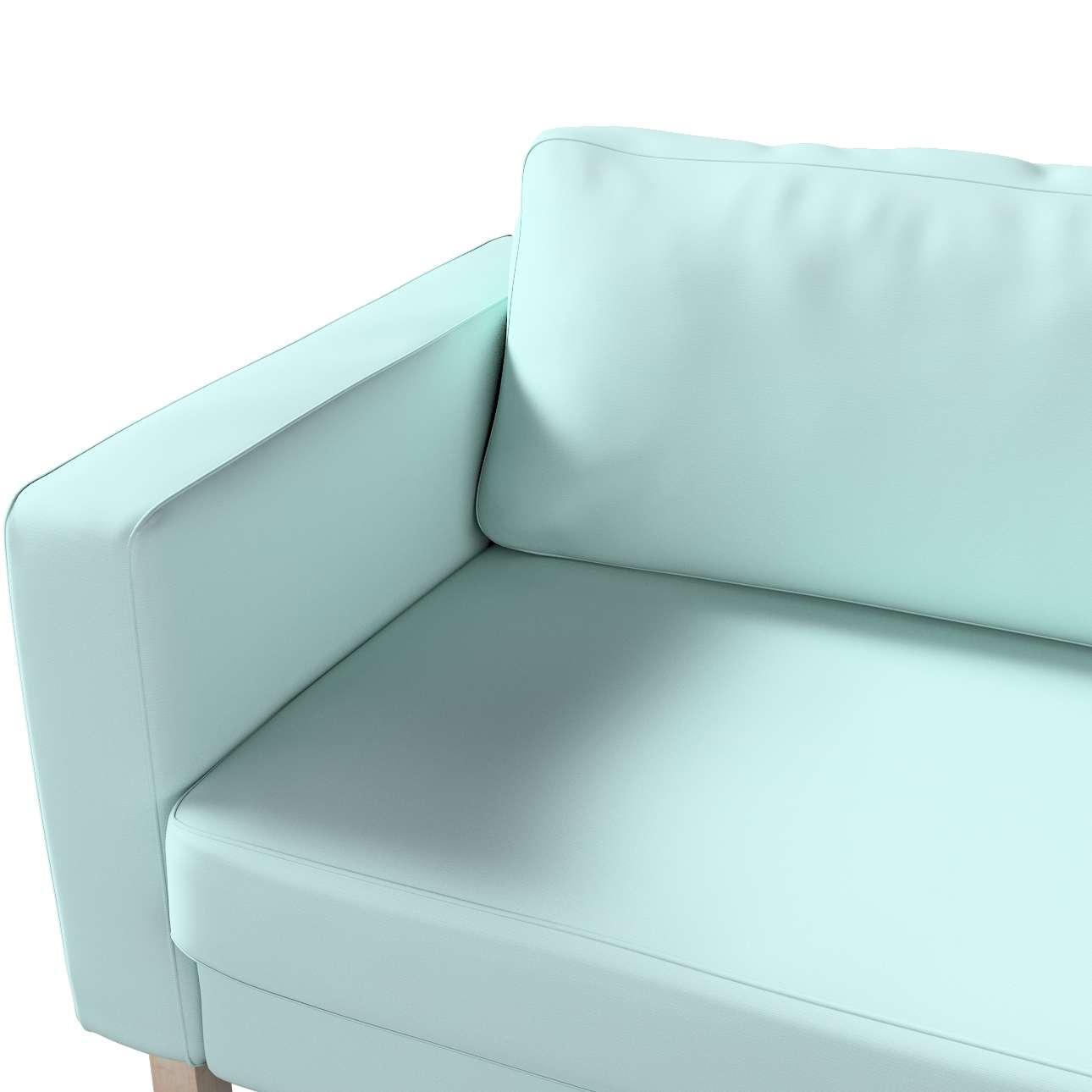 Karlstad betræk 3 personer 204cm fra kollektionen Cotton Panama, Stof: 702-10