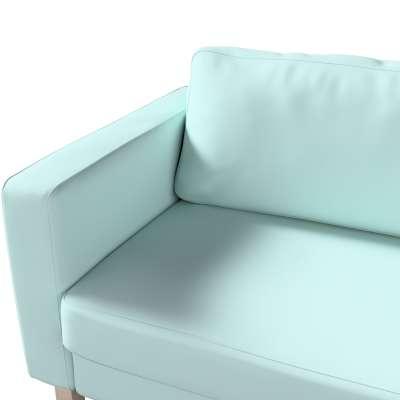 Pokrowiec na sofę Karlstad 3-osobową nierozkładaną, krótki w kolekcji Cotton Panama, tkanina: 702-10