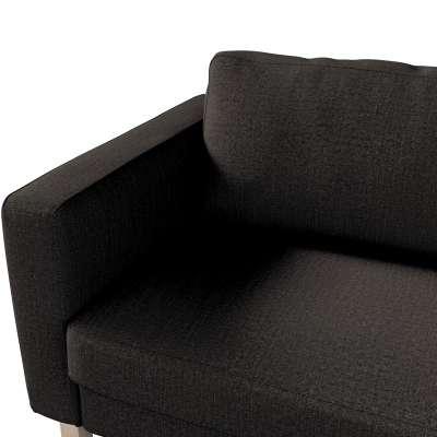 Pokrowiec na sofę Karlstad 3-osobową nierozkładaną, krótki w kolekcji Etna, tkanina: 702-36
