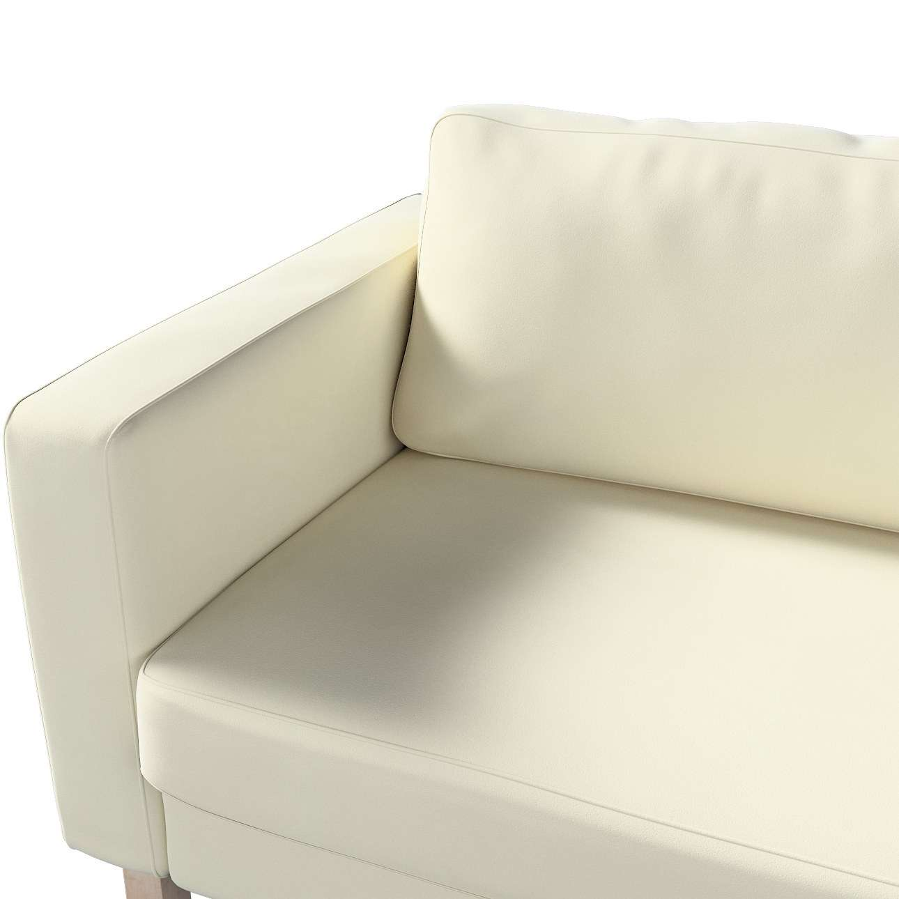 Karlstad 3-Sitzer Sofabezug nicht ausklappbar kurz von der Kollektion Velvet, Stoff: 704-10